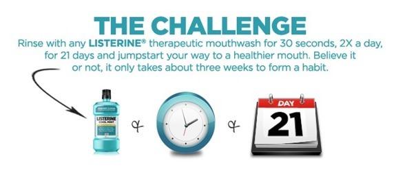 Listerine 21-Day Challenge