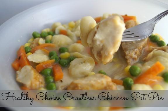 Healthy Choice Crustless Chicken Pot Pie- 300 Calories