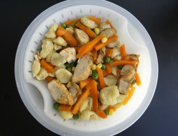 Healthy Choice Crustless Pot Pie Steamer