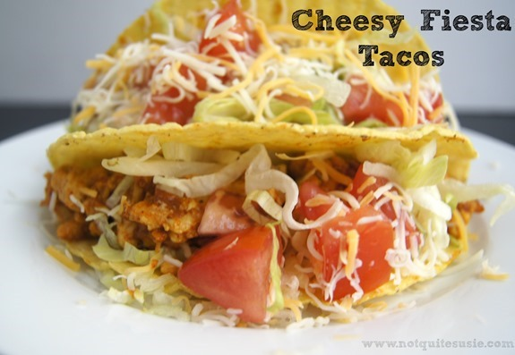 Cheesy Fiesta Tacos by McCormick &amp; @NotQuiteSusie #McCormickTacoNight