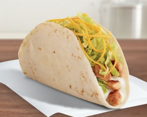 Del Taco Grilled Chicken Taco