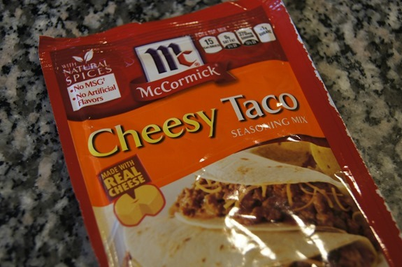 McCormick Cheesy Taco Seasoning Mix