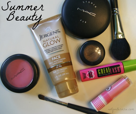 Summer Beauty Regimen #JergensNaturalGlow