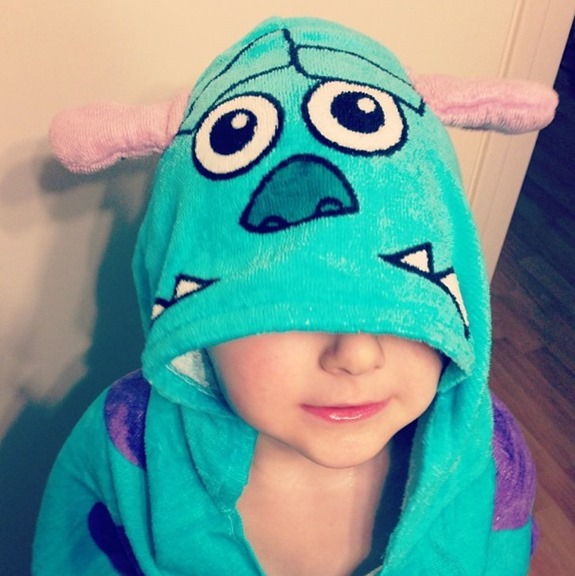 monsters inc towel