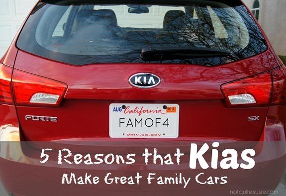 5 Reasons that Kias Make Great Family Cars