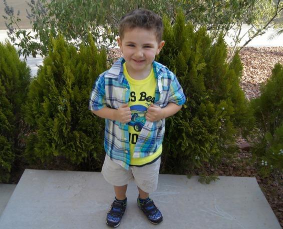 Shane in Full Osh Kosh B'Gosh outfit