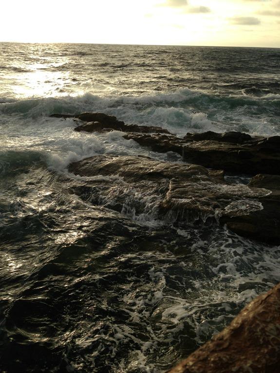 Waves Hitting Rocks at La Jolla Children's Pool