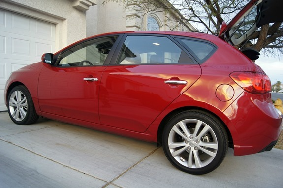 Hitting the Road with the Kia Forte 5 Door SX