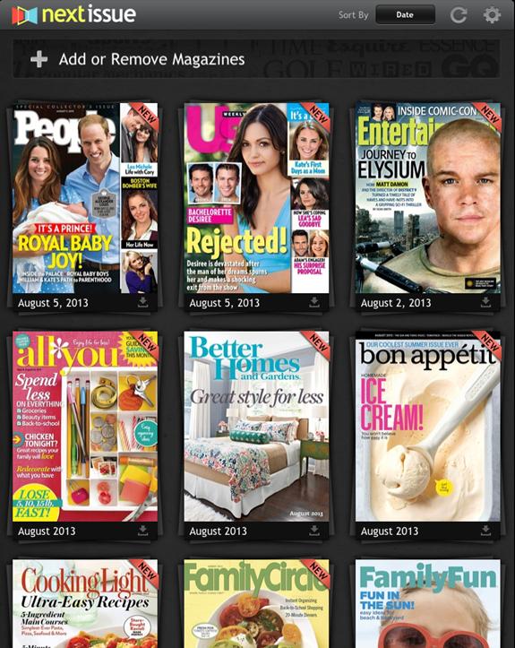 The Neater, Greener Way to Enjoy Magazines