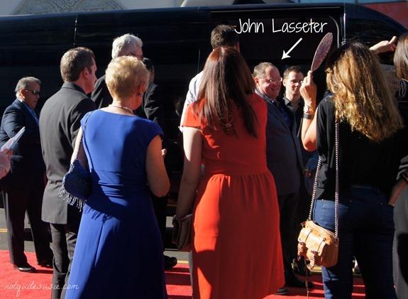 John Lasseter at the #DisneyPlanesPremiere