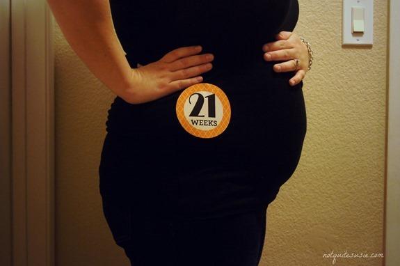 Беременность 20-21 неделя