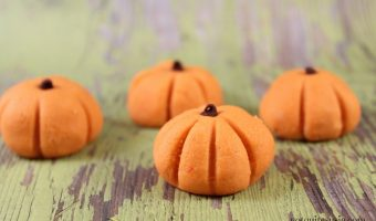 Easy Halloween Recipe: No Bake Peanut Butter Pumpkin Bites