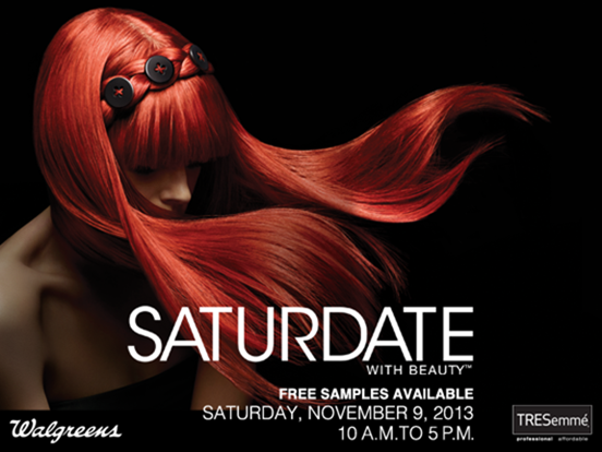 Try TRESemme's New Platinum Strength Collection &Get Free Samples at Walgreens on 11/9!