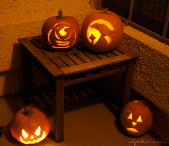 Monsters Inc Jack o Lantern Pumpkin