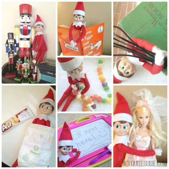 7 Fun Elf on the Shelf ideas!