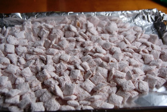 Strawberry Chocolate Muddy Buddies