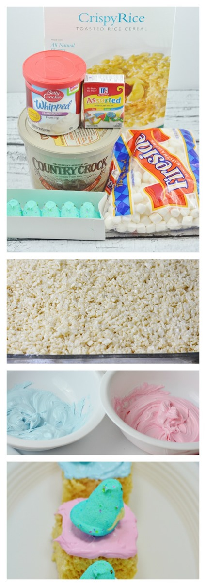 Easter Peeps Rice Crispy Treats Recipe