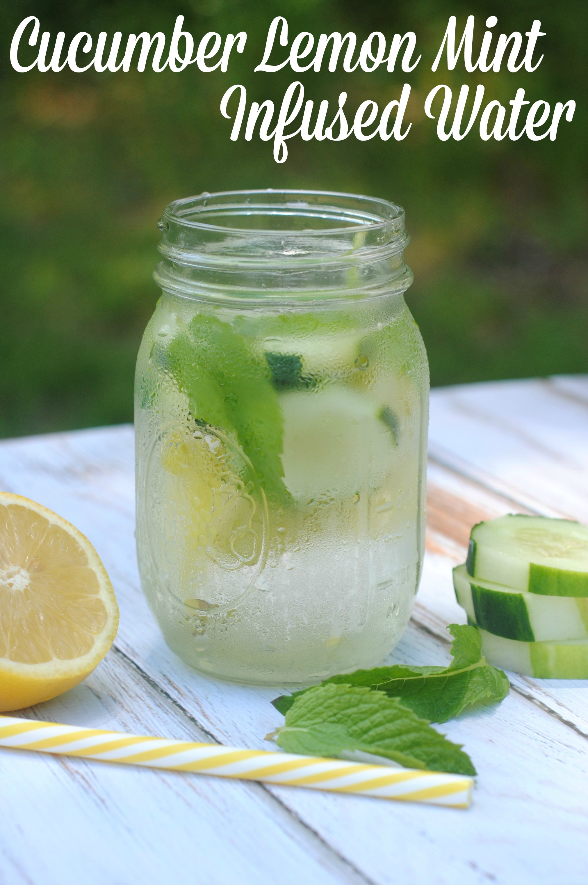 Patty's Fountain of Youth is a delicious Lemon, Cucumber, Ginger & Mint water recipe that aids in weight loss and cleansing the body. Remove the lemon slices, ginger and mint leaves before pouring. Drink the entire pitcher by the end of each day.
