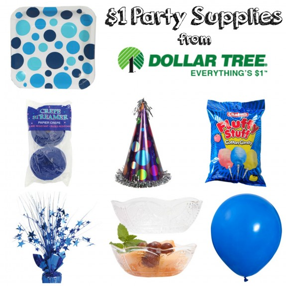 $1 Party Supplies from Dollar Tree!