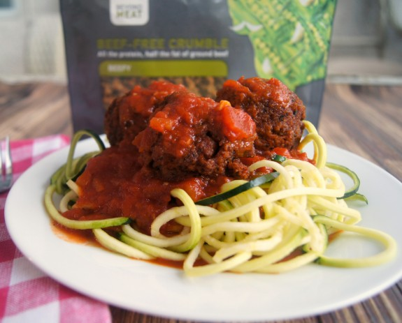 20 Minute Meatless Meatball Recipe