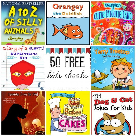 50 Free Kids ebooks Available Now!