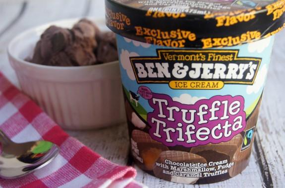 Ben & Jerry's Truffle Trifecta