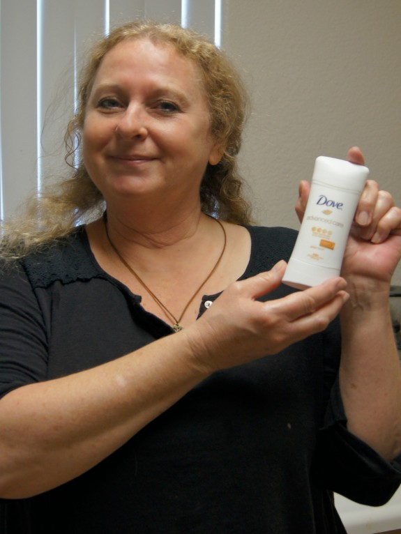 Mom with Dove Advanced Care