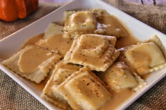 Pumpkin Parmesan Pasta Sauce