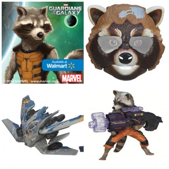 Rocket Raccoon Toys
