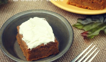 Pumpkin Spice Dessert Bars Recipe