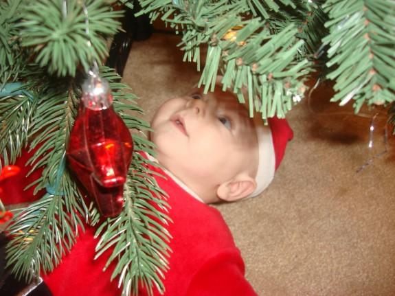 Shane first Christmas