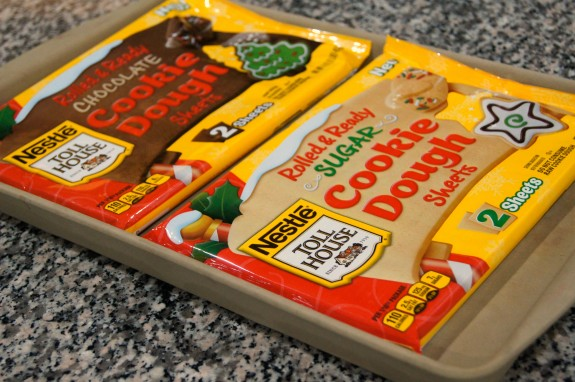 Nestle Rolled and Ready Cookie Dough Sheets