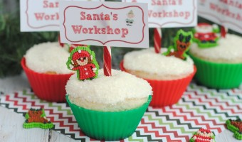 Easy Christmas Baking Recipe: Santa's Workshop Cupcakes