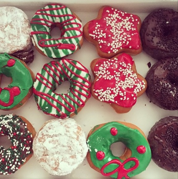 Christmas Dunkin' Donuts