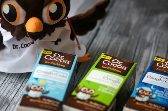 Dr Cocoa makes it easier for kids to take medicine, so you can fight the cold- NOT the kid!