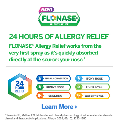 Flonase Allergy Relief Is Now Available Over The Counter