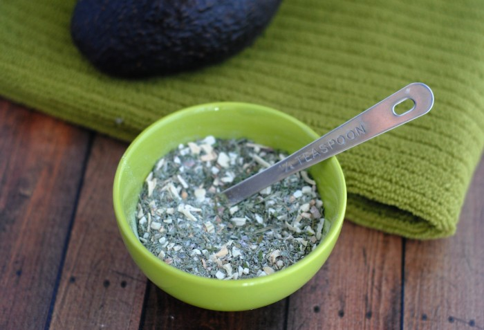 Homemade Guacamole Seasoning Recipe