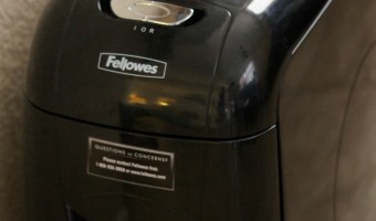 Great Gift Idea for Grads: Fellowes M-12C Shredder