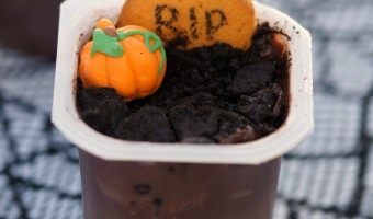 Spooky Graveyard Pudding Cups Recipe