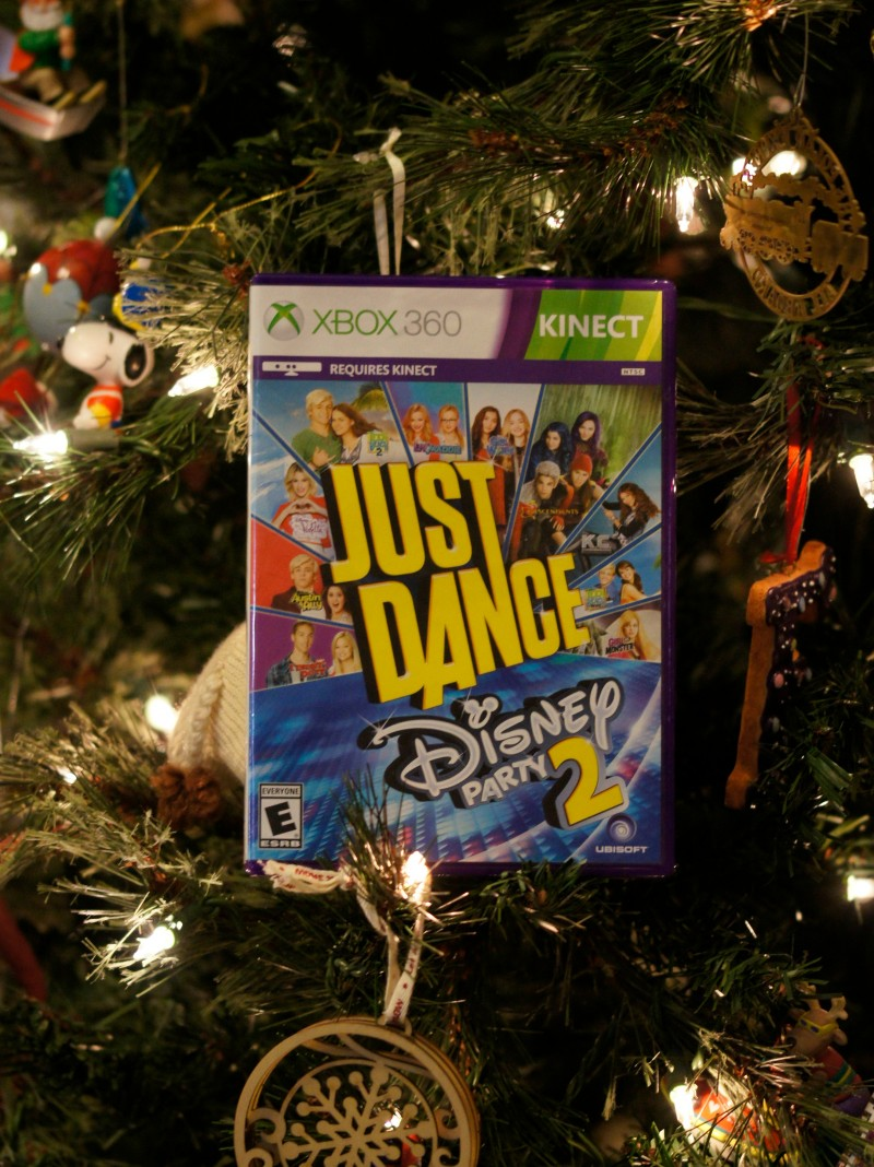 Holiday Gift Idea Just Dance Disney Party 2