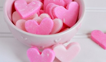 Cream Cheese Heart Mints Recipe