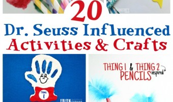 20 Dr. Seuss Inspired Crafts & Activities