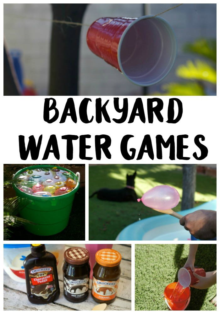 backyard water games ideas not quite susie homemaker