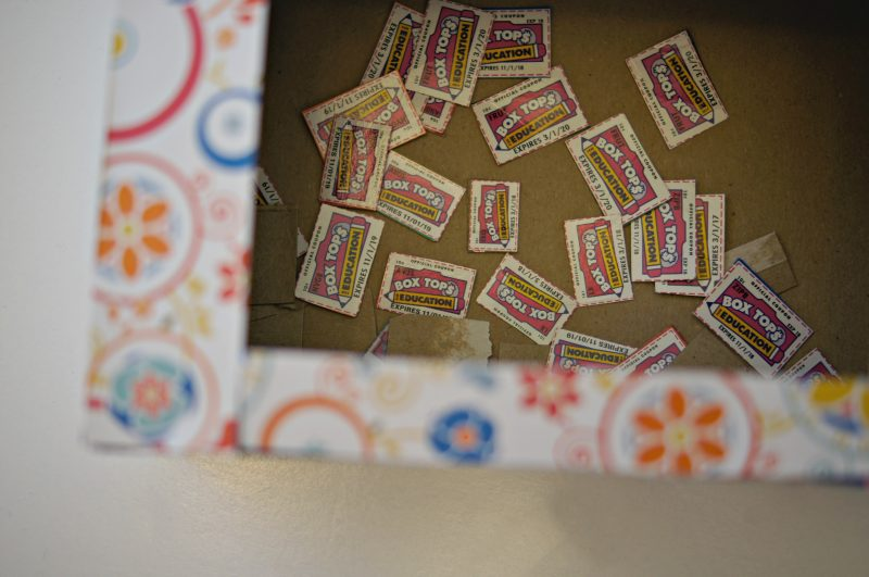 Decorated Box Tops Box