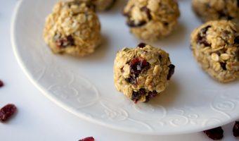 Cranberry Chocolate Chip Energy Bites Recipe