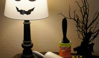 Easy DIY Spooky Halloween Lamp Tutorials