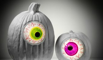 4 Easy No Carve Glow-in-the-Dark Pumpkin Decorating Ideas