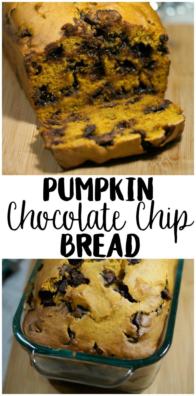Easy Pumpkin Chocolate Chip Bread Recipe - Susie Homemaker