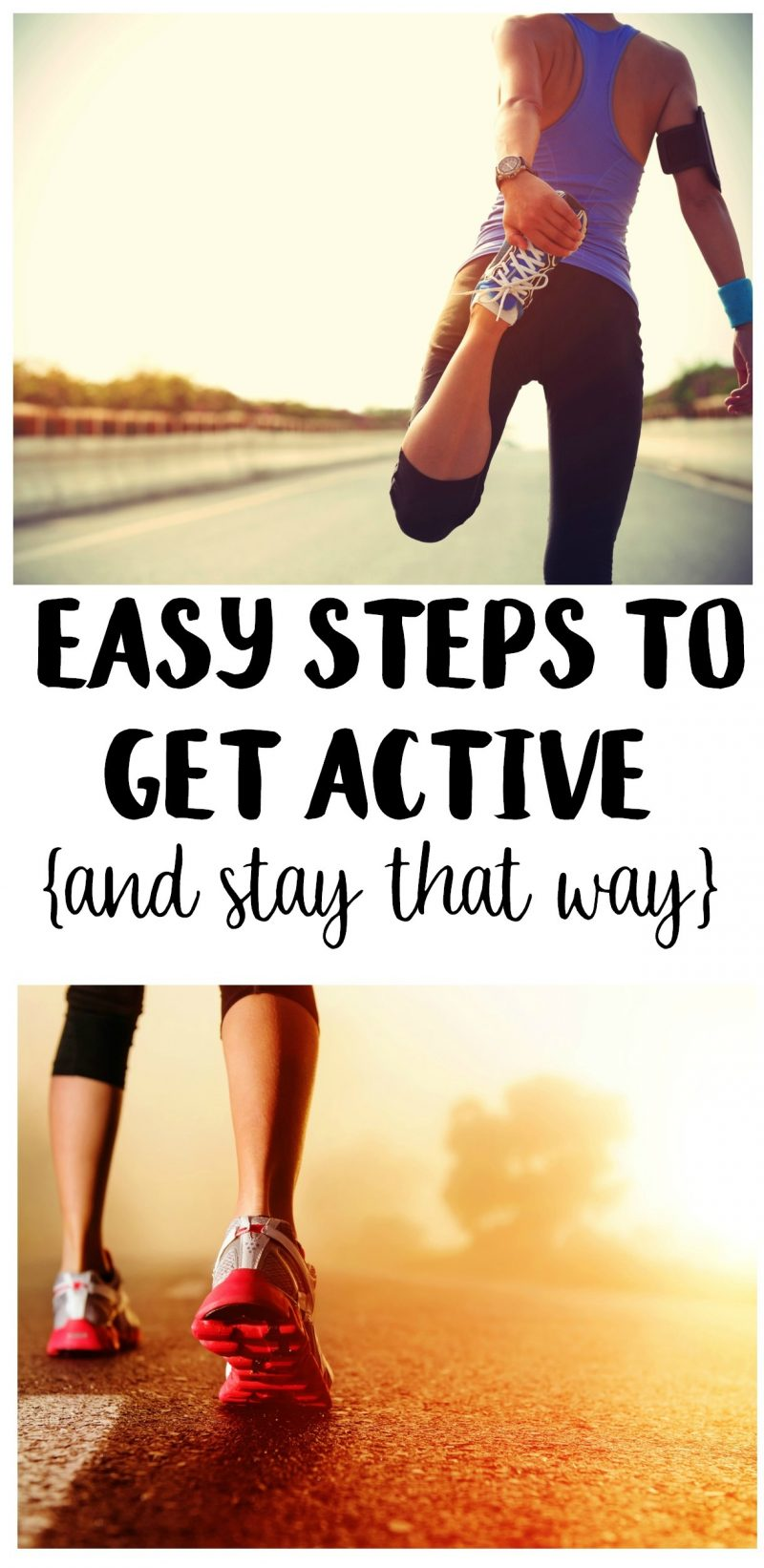 Whether you're working on losing weight or the challenge of a general fitness journey, we all have to start somewhere! Get the motivation to prepare to get active and make your own plan or routine with these easy tips for getting fit as a beginner at home!