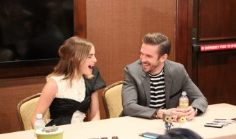 Exclusive Interview with Emma Watson {Belle} and Dan Stevens {Beast} from Beauty and the Beast
